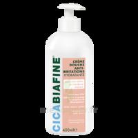 Cicabiafine Crème douche anti-irritations Bouteille Fl pompe/400ml à PARIS