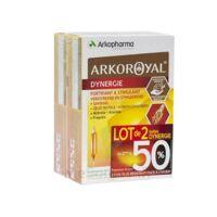 Arkoroyal Dynergie Ginseng Gelée Royale Propolis Solution Buvable 2b/20 Ampoules/10ml à PARIS