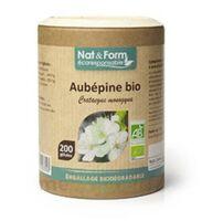 Nat&Form Eco Responsable Aubépine Bio Gélules B/200 à PARIS