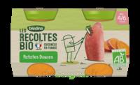 Blédina Les Récoltes Bio Patates Douces 2 Pots/130g à PARIS