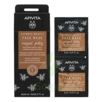 Apivita - Express Beauty Masque Visage Raffermissant & Revitalisant - Gelée Royale  2x8ml à PARIS