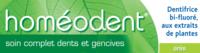 Boiron Homéodent Soin Complet Dents et Gencives Pâte Dentifrice Anis 2T/75ml à PARIS