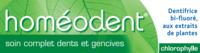 Boiron Homéodent Soin Complet Dents et Gencives Pâte Dentifrice Chlorophylle 2T/75ml à PARIS