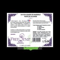 Freesens Savon Liquide De Marseille Fleur Lavande Fl Pompe/1l