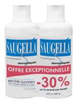 Saugella Emulsion Dermoliquide Lavante 2fl/500ml à PARIS