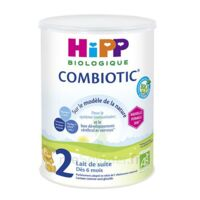 Hipp Lait 2 Combiotic® (nouvelle Formule Dha) Bio 800g à PARIS